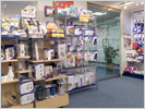 OEM private label product showroom